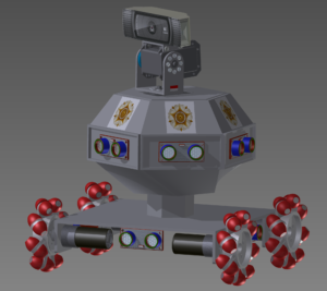 Gadjah Mada Surveillance Robot