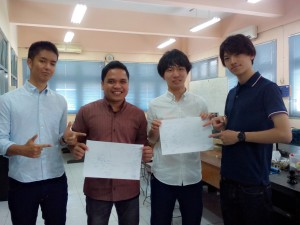 Tamu mhs dari Ariake National College of Technology Japan